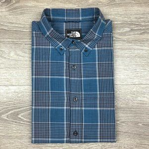 The North Face Plaid Button Up Shirt